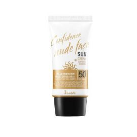 Солнцезащитный крем для лица -Confidence nune face sun cream SPF50+PA+++