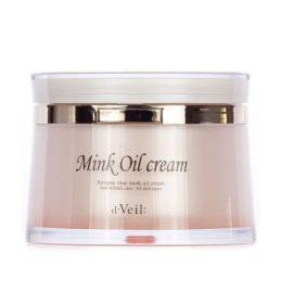 Крем с норковым маслом для лица-D'veil reserve time mink oil cream