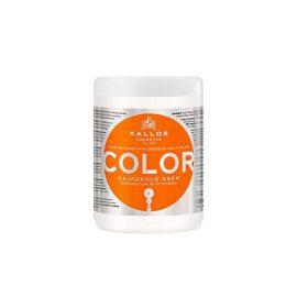 Маска для волос с УФ фильтром-Kallos Cosmetics Color H.Mask with lins.Oil.Uv Filte Mask