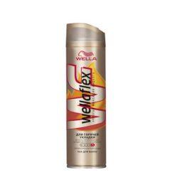 Лак для волос-Wellaflex горячей укладки супер-сильной фиксации