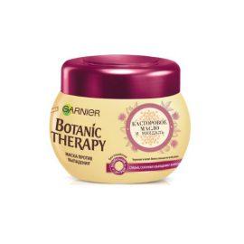 Маска для ослабленных волос касторовое масло и миндаль-Garnier Botanic Therapy