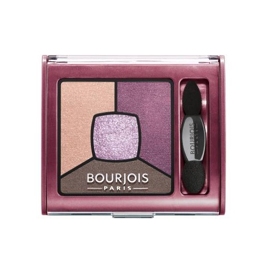 Тени для век-Bourjois Smoky Stories Quad Eyeshadow