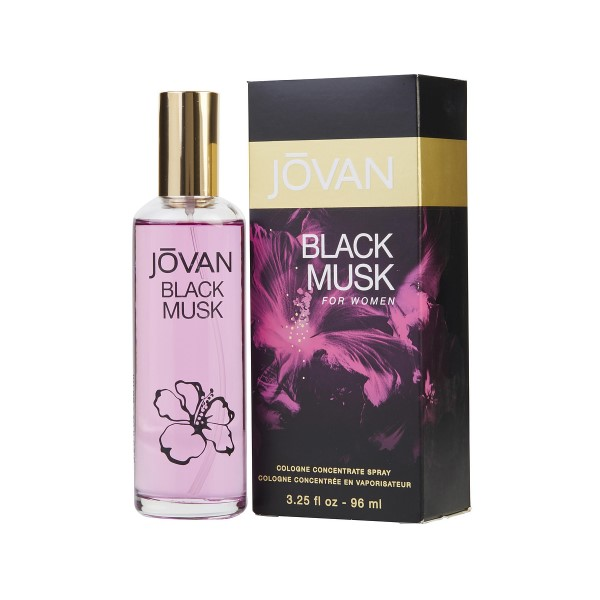 Кельнская вода-Jovan Black Musk for Women Cologne Spray Concentrate