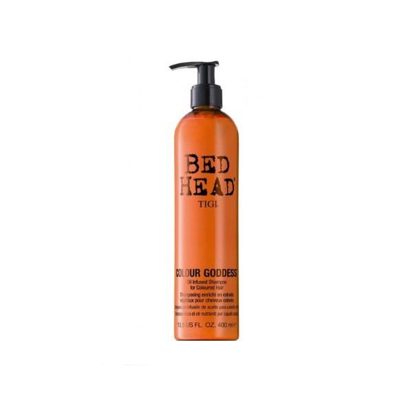 Кондиционер для окрашеных волос-Tigi Bedhead Colour Goddess Conditioner for Coloured Hair
