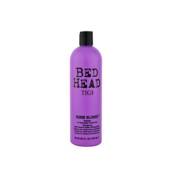 Шампунь для поврежденных волос-Tigi Bedhead Dumb Blonde Shampoo
