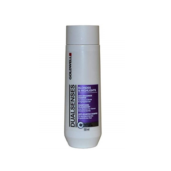 Шампунь против светлых и мелированных волос-Goldwell Dual Senses Anti Brassiness Shampoo Blondes & Highlights