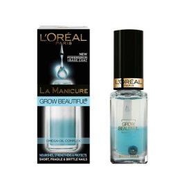 Верхнее покрытие для питание ногтей-L'Oreal La Manicure Grow Beautiful Nourishes and Protects