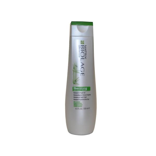 Шампунь для ломких волос-Matrix Biolage Fiberstrong Shampoo for Fragile Hair Intra Cylane+Bamboo