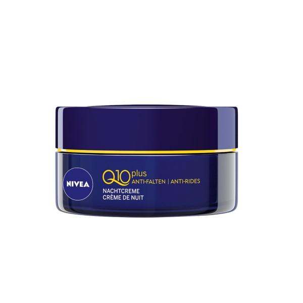 Увлажняющий ночной крем от морщин-Nivea Visage Q10 Crème anti-rides nuit