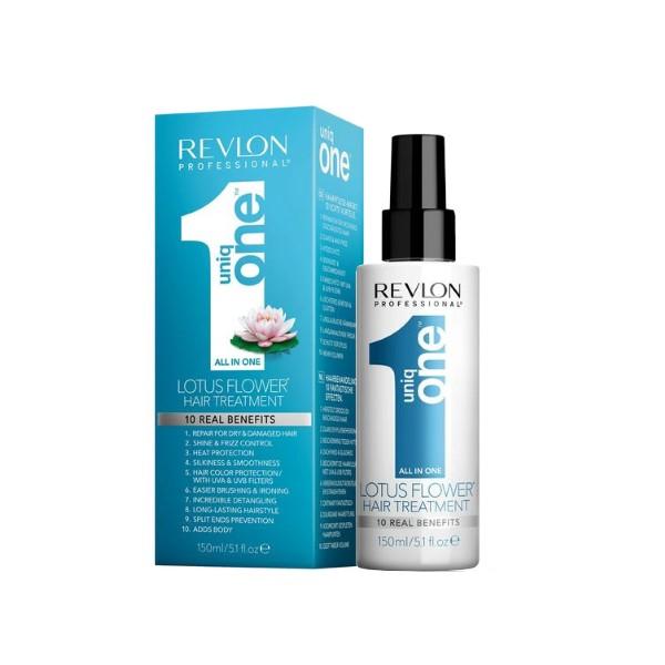 Несмываемая спрей маска-Revlon Professional Hair Treatment Lotus Flower