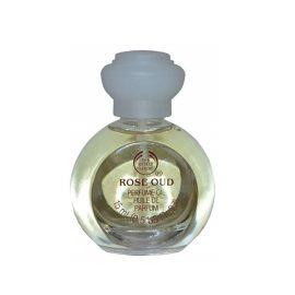 Парфюмированное масло-Body Shop Perfume Oil Rose Oud