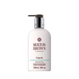 Лосьон для тела с ароматом имбиря и лилии-Molton Brown Nourishing Body Lotion Gingerlily