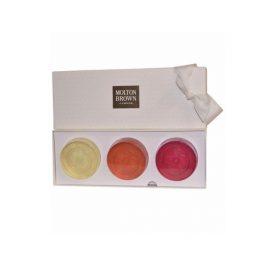 Коллекция мыла из драгоценных камней-Molton Brown Precious Gem Soap Collection- Gingerlily Orange & Bergamot, Pink Pepperpod