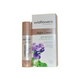 Увлажняющий ночной крем для чувствительной кожи-Wildflowers Skincare Night Cream Hydrating for Sensitive Skin