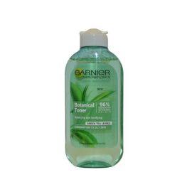 Тонер для кожи-Garnier Skin Naturals Botanical Toner with Green Tea Leaves Combination / Oily Skin