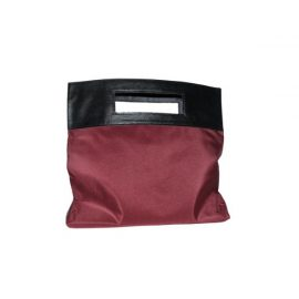 Elizabeth Arden Folding Tote Bag Red/Grey Black Handles