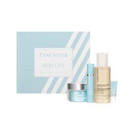 Набор для лица-Lancaster Skin Life Set - Eye Cream, Primer Day Cream, Cleanser