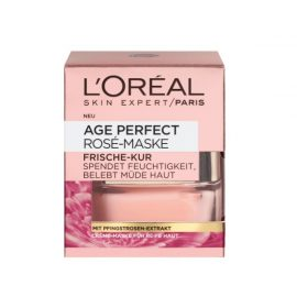 Гелевой маске против морщин для зрелой кожи-L'Oreal Age Perfect Rosy Glow Mask