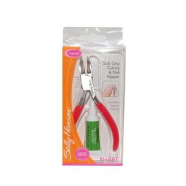 Мягкая ручка для кутикулы и кусачки для ногтей-Sally Hansen Soft Grip Cuticle and Nail Clipper