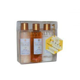 Набор Эликсир для Ванны, Гель для Душа, Лосьон для Тела-Bronnley Honey Blossom Bath & Body Collection Elixir/Wash/Lotion