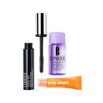 Набор для глаз-Clinique Bright All Night Set - Eye Cream Chubby, Mascara Black, MU Remover
