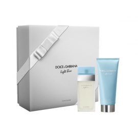 Набор Туалетная вода, Крем для Тела-Dolce & Gabbana Light Blue Eau de Toilette & Refreshing Body Cream